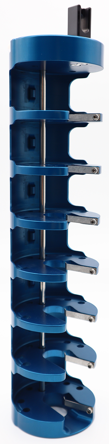 One-Piece Shelved Puck Shipping Cane