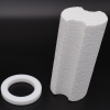 Styrofoam spacer and canister support ring